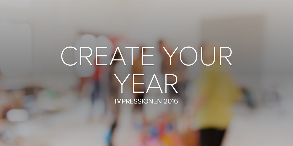CREATE YOUR YEAR