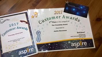 Jackie aspire award 2017
