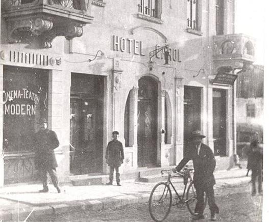 Planul străzii Lipscani din anul 1896 pe care este trecut hotelul Jianu donat de negustorul cojocar Marin Jianu Primăriei Slatina în 1890 (imagine și explicații – Aurelia Grosu)