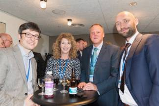 David Canek (Memsource), Anne-Marie Colliander Lind (Inkrea.se Consulting), Jesper Sandberg (STP) , Krzysztof Zdanowski (Summa Linguae) at SlatorCon London 2017