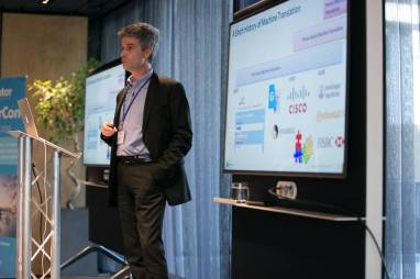 Jean Senellart, CTO, SYSTRAN at SlatorCon London 2018