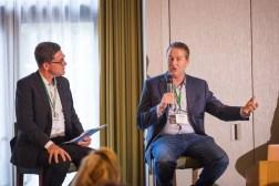 Andrew Smart, Bryan Forrester at SlatorCon San Francisco 2018