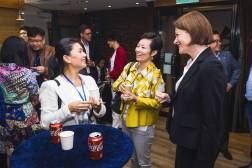 Networking at SlatorMeet Hong Kong 2018.