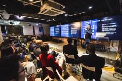 Audience listens to Into23 Founder Richar Delanty presentation at SlatorMeet Hong Kong 2018.
