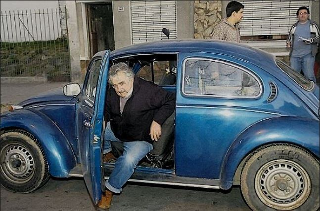 Jose Mujica & his VW