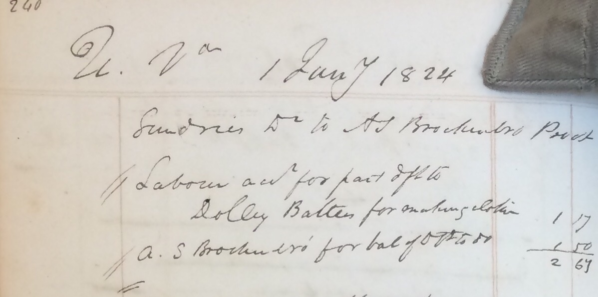 Proctor's Daybook p238- (RG-5-3-2.102) page #0