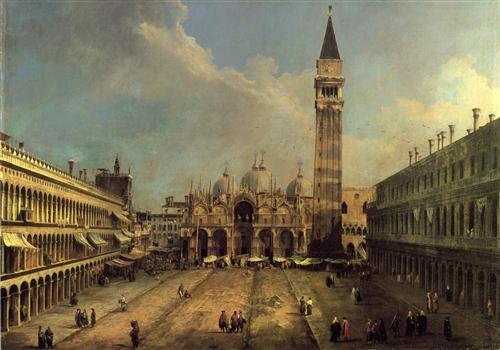 Piazza San Marco, 1723