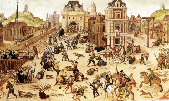 St Bartholomew's Day Massacre, France 1572