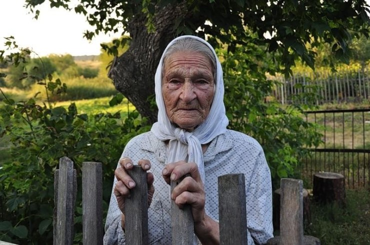 Бабушка.