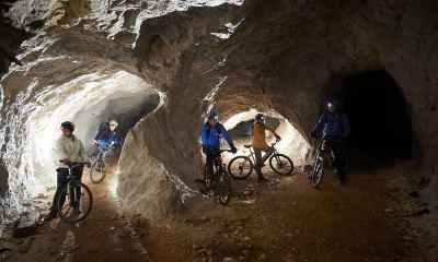 Велосипедная прогулка сквозь гору – podzemlje peca!