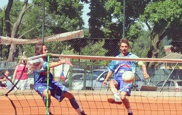 footvolley,futnet, siatkonoga z trenerem osiedlowym