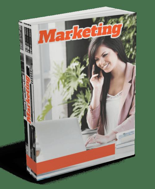 """""""Marketing"""", un libro chiaramente legittimo su Internet."""