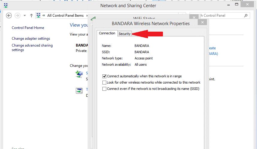 Manage Wireless Networks Windows 10