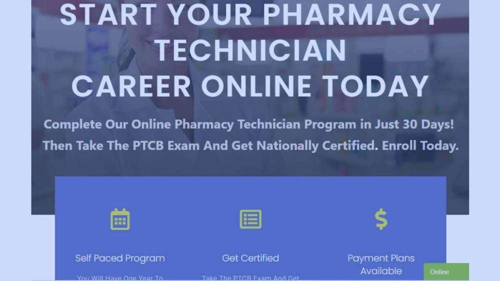 3 Month pharmacy technician programs 2021