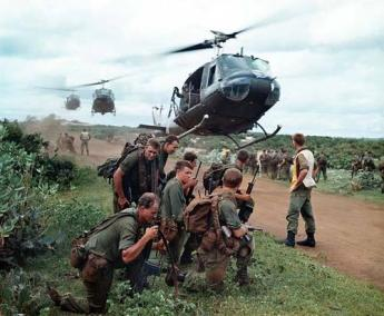 5 Platoon, B Company, 7RAR Waiting To Be Airlifted