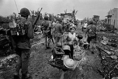 Aftermath of the Tet Offensive in Saigon