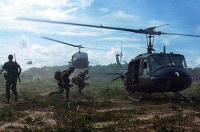 Combat Extraction with Huey Helicopters