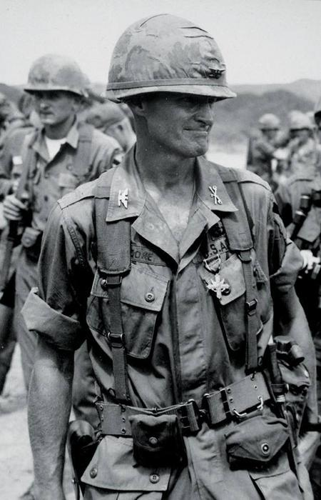 Hal Moore United States Army Lieutenant General - Remembering The Vietnam War