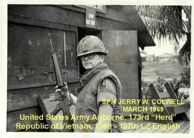 Jerry W. Colwell, United States Army Airborn