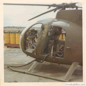 LOH Outfitted With a Device That Could Pick Up the Scent of the Viet Cong