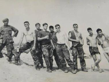 Members Of Bad Boy Recon At Eagle Beach