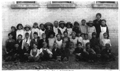 Norma Benson Class, Newton Grade School, 1913-1918