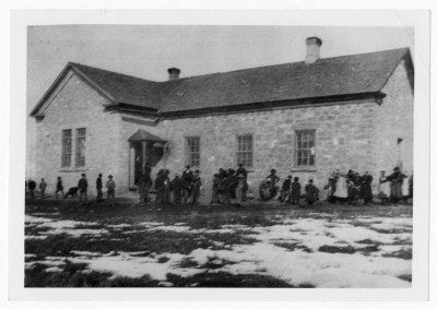 Newton, Utah rock school, 1873-1907