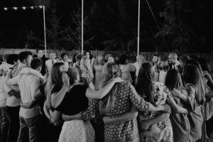 utah wedding circle dance