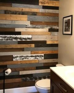 Pallet Wall Bathroom