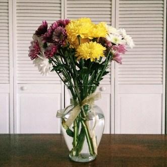 I love fresh flowers!