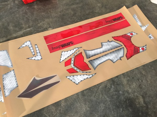 Sled Wrap Installation - Sled 360