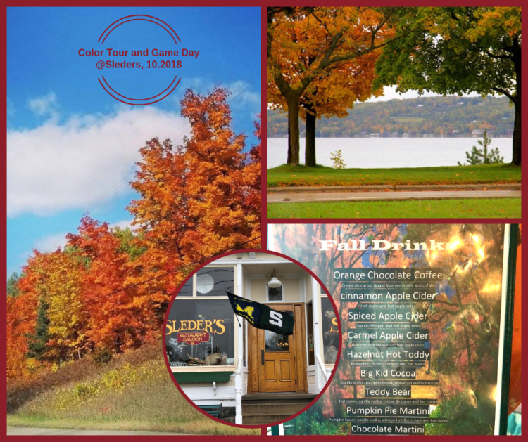 Fall colors and game day at Sleder's