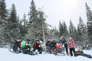 Scotsmen Group that fell in love with NF Snowmobiling.