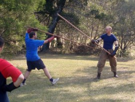 Paul Wagner - Quarterstaff Workshop