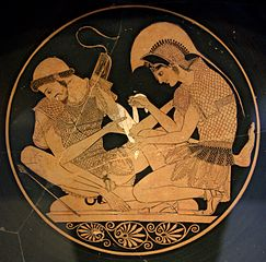 The Trojan War - Achilles and Patroclos