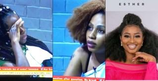 BBNaija: 'Esther is not herself and has never been herself' - Housemates gossip