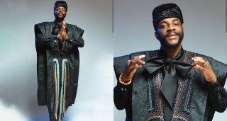 Ebuka makes your tailor look foolish - Nigerians Gush As He shares Cute Photos Of Attire Again like always, Big Brother Naija host, Ebuka Obi-Uchendu has stirred up reactions with his stunning outfit to the BBNaija live eviction show.
