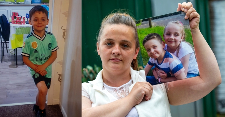 Mum in agony after son screams and dies minutes after telling her 'I love you'