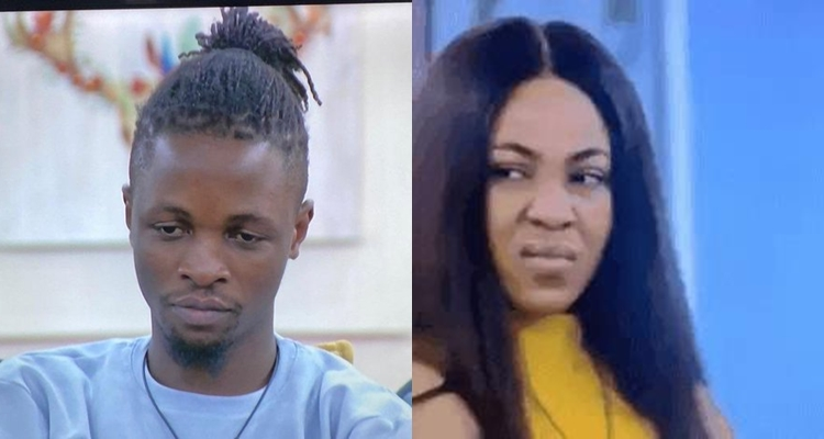 #BBNaija: I am mad and angry - Laycon breaks down after Erica chose Kiddwaya as her deputy