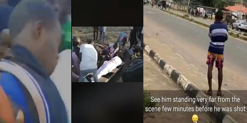 Jimoh Isiaq murdered in cold blood by Police officer while participating in #EndSARS Protest