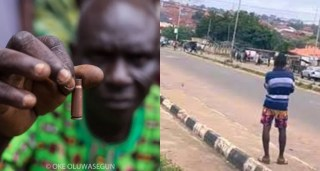 Doctors removed several bullets from my son, Jimoh Isiaq's body – Father of boy killed in Ogbomosho #EndSARS protest (Video)