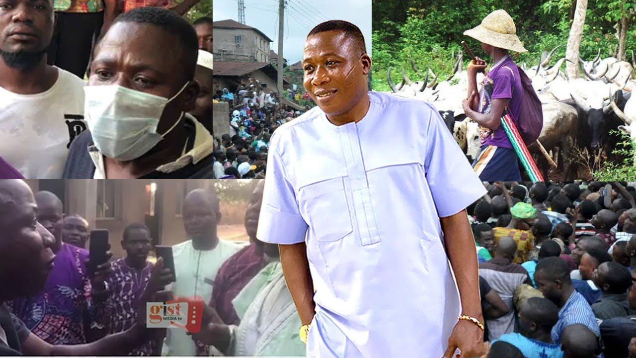Breaking: No arrest, Sunday Igboho meets police commissioner [Video]
