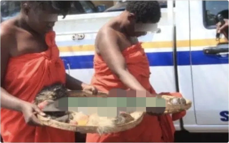 Man Rapes Two Witches He Found Naked In His House