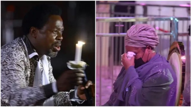 You are a rejected soul - Crisis Rocks Synagogue Church as Members Reject TB Joshua's Wife as Successor, Give Reasons