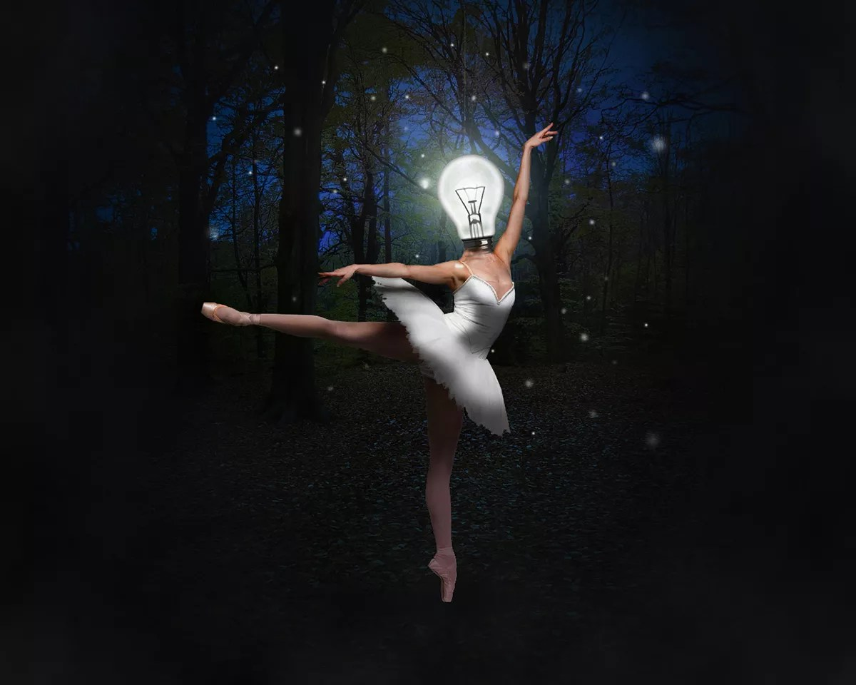 Photoshop Creative Effects Making Of Surreal Ballet Dancer