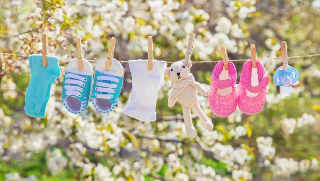 Principais cuidados com as roupinhas do bebê