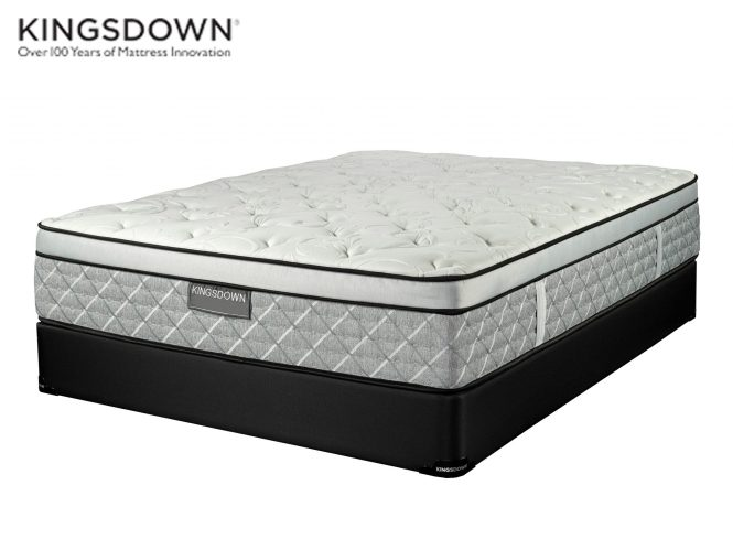 Glenwood Euro Top Medium Firm Kingsdown Crown Collection Sleep Guide Mattress