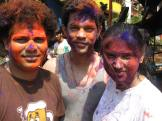 Photo during Holi in Goa by Terri Colby