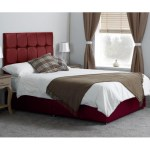 Memory Leather Adjustable Bed With Cubed Tall Headboard Sleep Kings