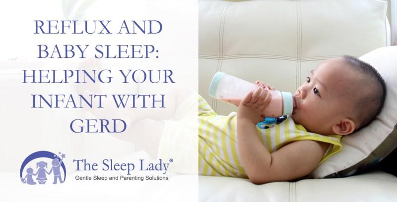 reflux and baby sleep
